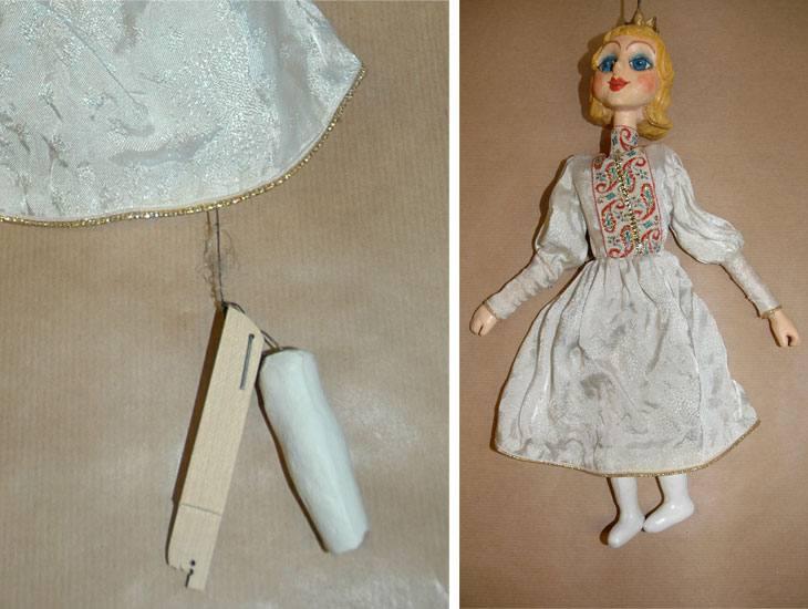 Marionette. Ungarn ca 1950.