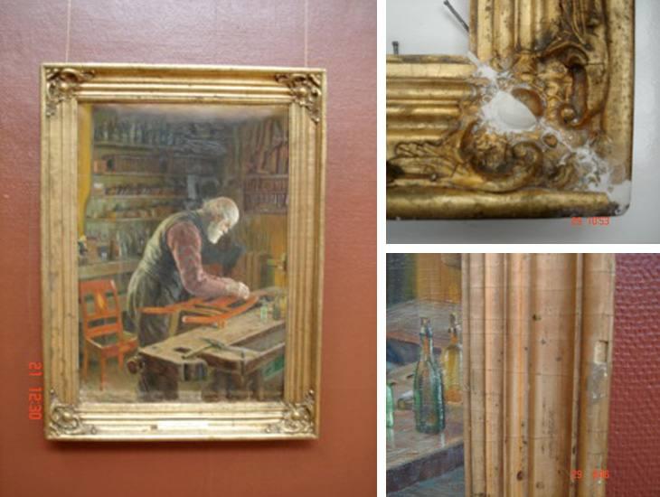 Asker Museum. Arbeid utført 2007.